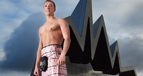 Elite swimmer, Robbie Renwick