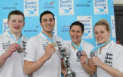 England take victory in the British Gas Battle of SwimBritain