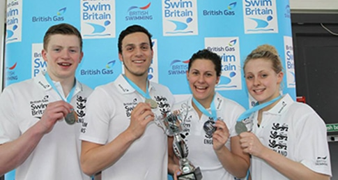 England win the Battle of SwimBritain