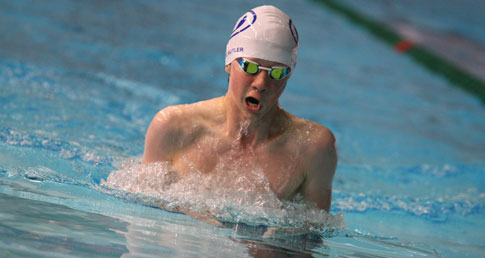 Greg Butler breaststroke british record