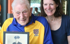 Masters swimmer sees centenary in with a swim