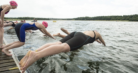 An introduction to Open Water swimming event at Hathersage