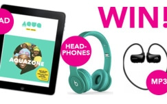 Win an iPad with AquaZone