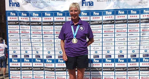 Judy Wilson heads medal rush at World Masters