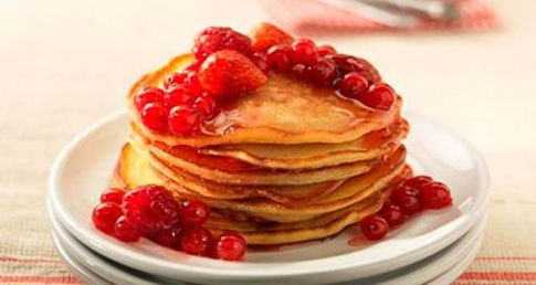 A powerful pancake recipe for swimmers