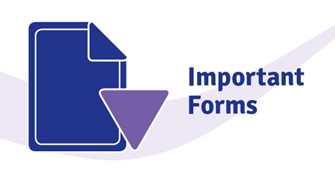 Important forms download image. Approved Centres download forms here.