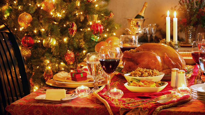 Bring us some figgy pudding - calories in a Christmas dinner