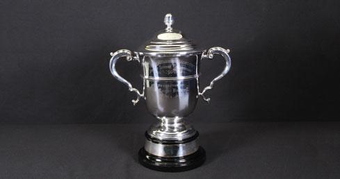 Dr Morgan Dockrell Trophy. ASA Trophy cabinet