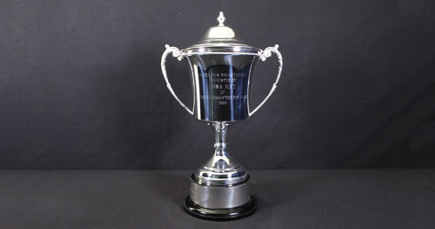 Edna May Trophy. ASA trophy cabinet