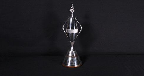 Frances Hill-Cole Trophy. ASA trophy cabinet