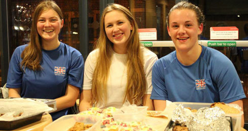 GB U17s raising money for Euro Games