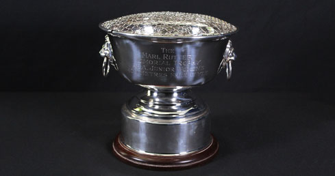 Marl Rutter Memorial Trophy. ASA trophy cabinet