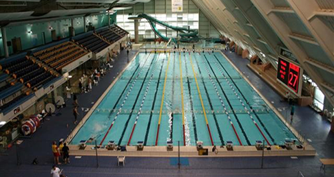 Manchester Aquatics Centre. Book on to a Masters Masterclass at the centre.