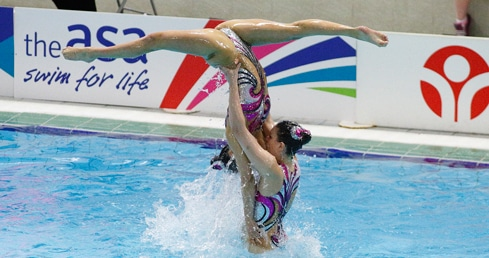 About Synchronised Swimming. Find out about the rules of synchronised swimming in England.