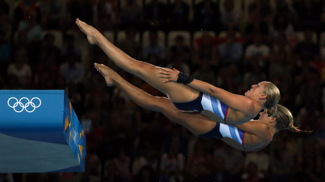 Straight Position In Diving