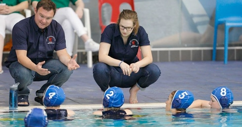 Coaching Water Polo in England