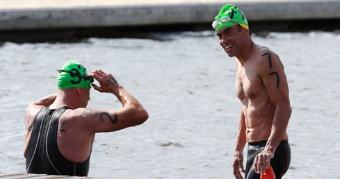 Masters regional open water championships closing in