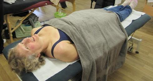 Val Thorpe Sports Massage Masters swimming