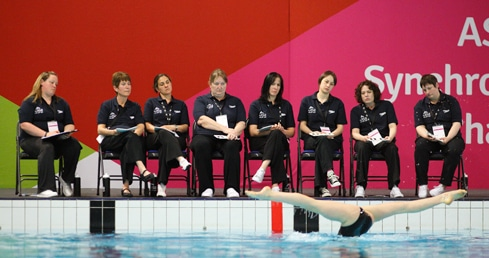 synchro judges. used on synchro judges training courses page.