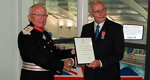 Matlock's Reg Smith awarded British Empire Medal