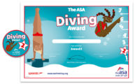ASA Diving Awards Level 2 Certificate and Badge