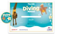 ASA Diving Awards Level 3 Certificate and Badge