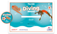 ASA Diving Awards Level 6 Certificate and Badge