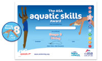 The ASA Aquatic Skills Award for Diving Stage 8