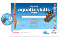 The ASA Aquatic Skills Award for Diving Stage 9