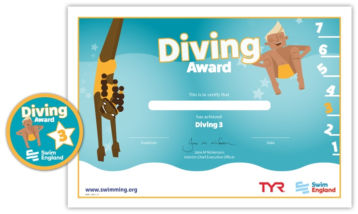 Swim England Diving Award: Stage 3