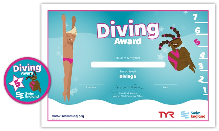 Swim England Diving Award: Stage 5