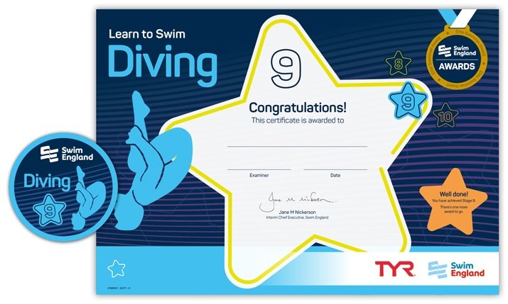 Learn to Swim Diving: Stage 9