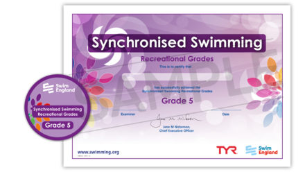 Synchronised Swimming Awards