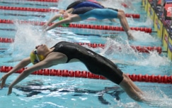 Backstroke hat-trick for Cutler in day five finals