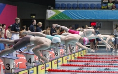 Wells wins third gold in day three finals