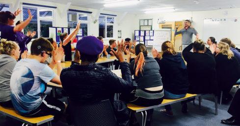 Image of classroom teaching on the ASA Educator Development page