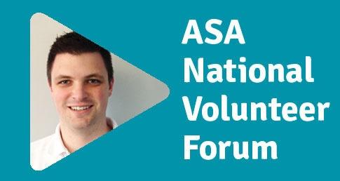 Adam Lace ASA National Volunteer Forum profile