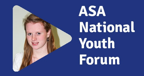 Ellie Bamber ASA National Youth Forum profile