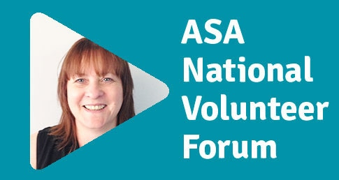Paula Durrant ASA National Volunteer Forum profile