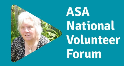 Sue Dors ASA National Volunteer Forum profile