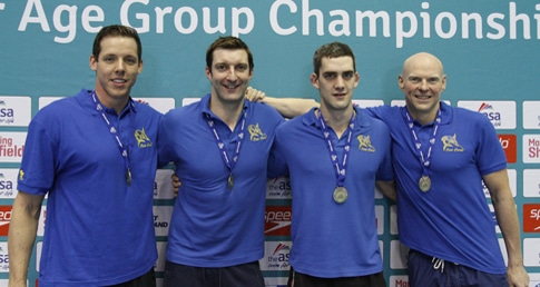 East Leeds ease to World relay record at Ponds Forge
