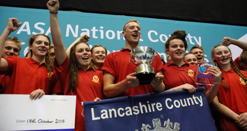 Lancashire win 14th title at ASA County Team Championships 2015
