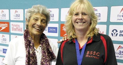 Sally Winter breaks European record at ASA Masters Champs