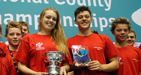 Swim Wales West win Division 2 of the 2015 ASA County Team Championships