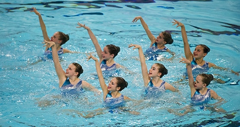 England Programmes Synchro at 2015 Age Group Championships