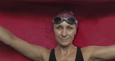 Jane Hatwell swims 22 miles in 22 days for charity
