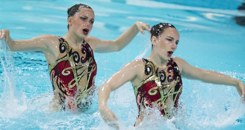 Olympic synchro duet line-up confirmed