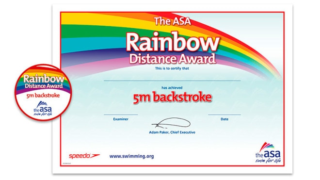ASA Rainbow Stroke Awards