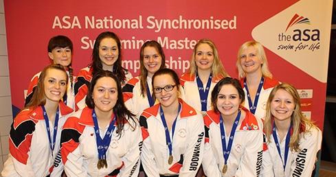 Rushmoor Royals reign at ASA Synchro Masters 2015