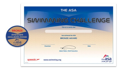 ASA Swimming Challenge Awards